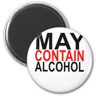 MAY CONTAIN ALCOHOL SHIRT '. MAGNET