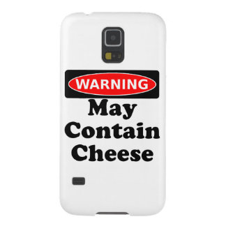 May Contain Cheese Galaxy S5 Cover