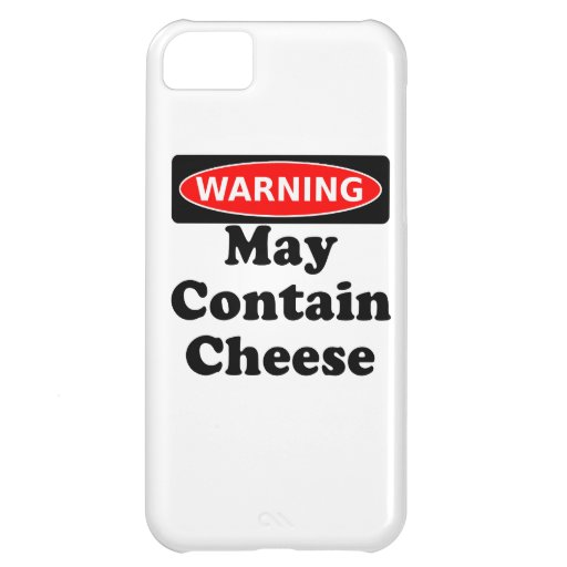 May Contain Cheese iPhone 5C Case