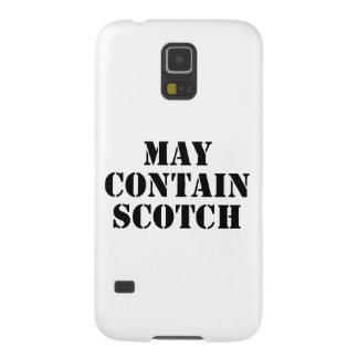 May Contain Scotch Galaxy S5 Covers