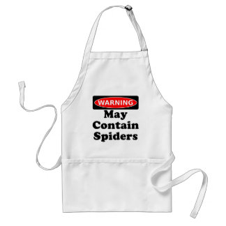 May Contain Spiders Standard Apron