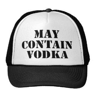 May Contain Vodka Trucker Hat