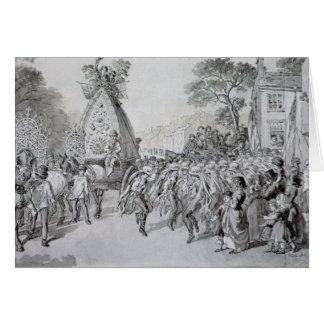 May Day at Bowdon, Cheshire Card