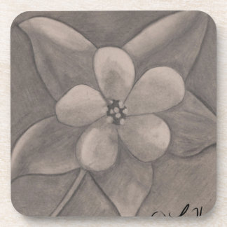 May Day Flower (drawing) Coasters
