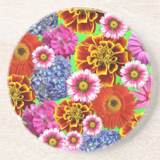 May Flowers Drink Coasters