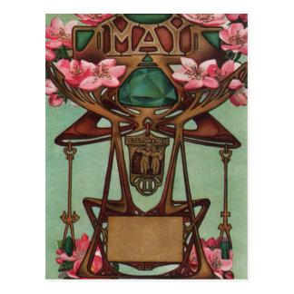May - Gemini Postcard