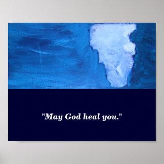 MAY GOD HEAL YOU POSTER