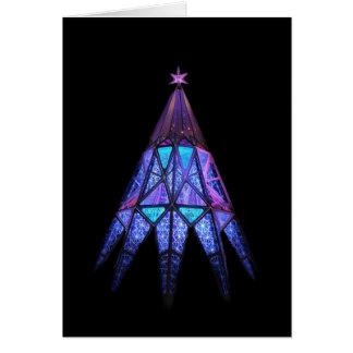May Happiness Glow at Christmas, Tree Card