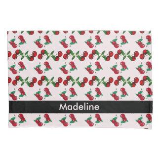 May I Sleep Please?: head on top cherries Pillowcase