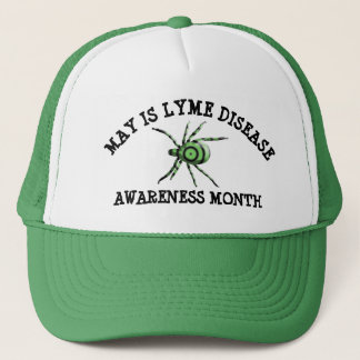 May is Lyme Disease Awareness  Month Baseball Cap