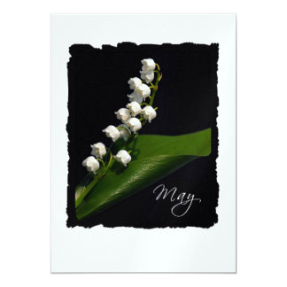 May: Lily of the Valley Card