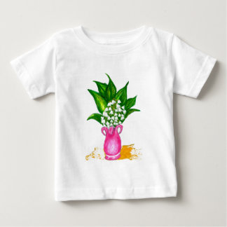 May Lily Painting Baby T-Shirt