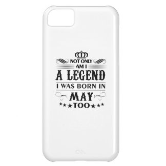 May month Legends tshirts iPhone 5C Cases