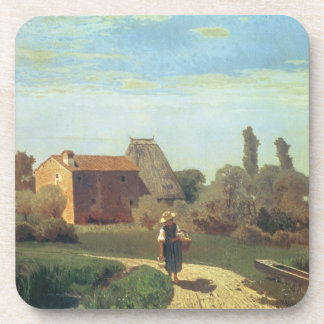 May Morning (oil on canvas) Coasters
