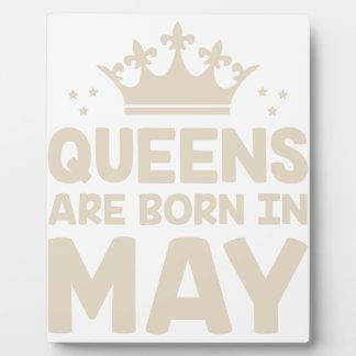 May Queen Plaque