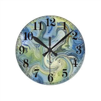 May Reflections Wall Clock