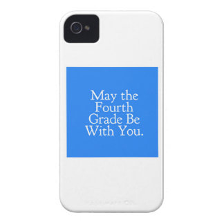 May the 4th Grade be with you Teacher Student Gift iPhone 4 Cover