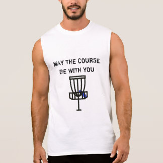 May the Course Be With You Discing Humor Shirt