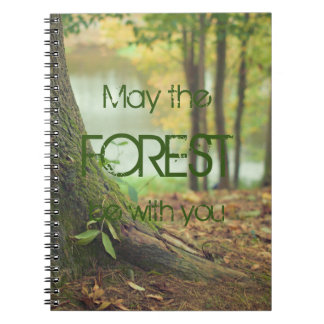 May the forest be with you notebook
