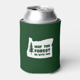 May the Forest Be With You Oregon Can Cooler