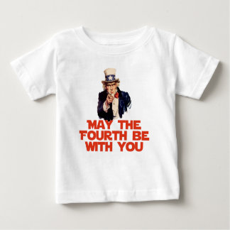 May The Fourth Be With You Baby T-Shirt