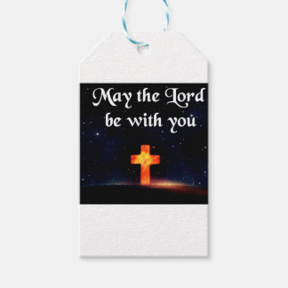 may the Lord be with you Gift Tags