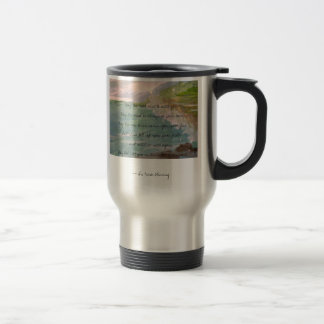 May the Road Rise to Meet You Irish Travel Mug