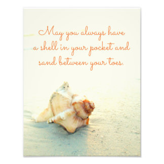 May you always have a Shell in your Pocket Photo Print