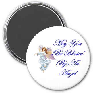 May You Be Blessed By An Angel Magnet