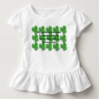 May your blessings out number the shamrocks toddler t-shirt