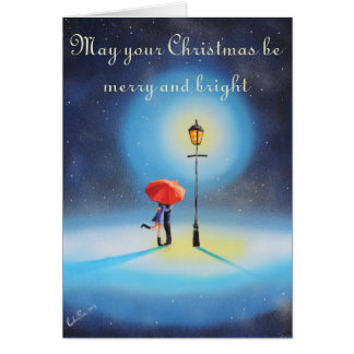 May your Christmas be merry and bright card