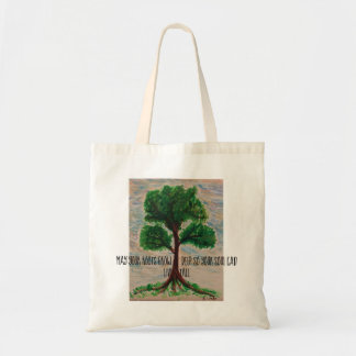 May your roots grow deep tote bag