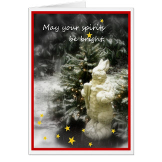 May Your Spirits Be Bright Card
