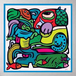 maya 25 poster