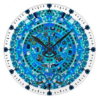 Maya Aztec Calendar 2012 Wall Clock
