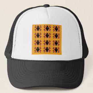 Maya / Aztec handdrawn  Folk Summer vintage patter Trucker Hat