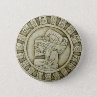 Maya calendar 2 inch round button
