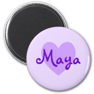 Maya in Purple Magnet