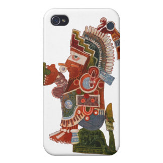 Maya indian with beer! iPhone 4 case