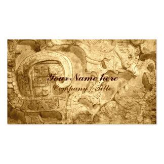 Maya Motif Business Card