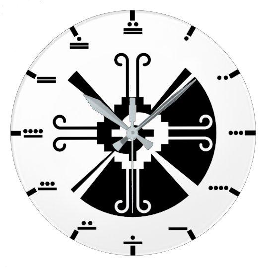 Maya numerals - Hunab Ku Wall Clock. Clocks