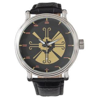 Maya numerals - Hunab Ku Watch. Wrist Watch