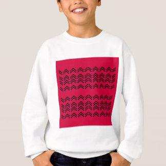 MAYA Ornaments RED BLACK Sweatshirt