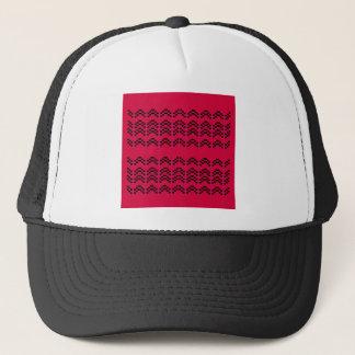 MAYA Ornaments RED BLACK Trucker Hat
