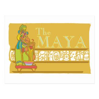 Maya Poster 2 Postcard