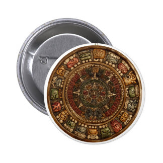 Mayan and Aztec Calendar (Multiple Products) 2 Inch Round Button