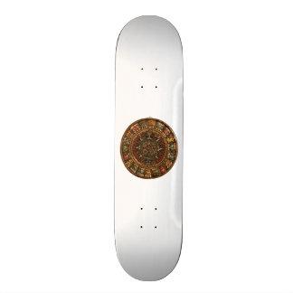 Mayan and Aztec Calendar Skate Decks