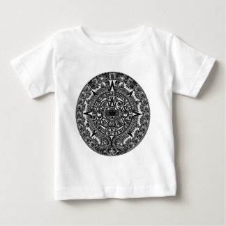 Mayan Aztec Calendar (black) Dec.21, 2012 Baby T-Shirt