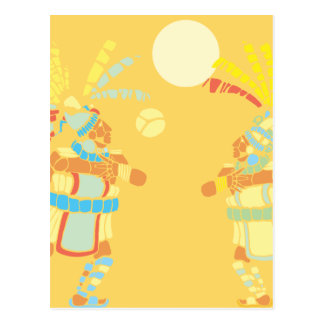 Mayan Ball-Player Postcard