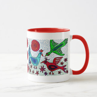 Mayan Birds Coffee Mug